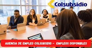 Personal para portal de empleo colsubcidio